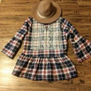 Andree by Unit flannel tunic